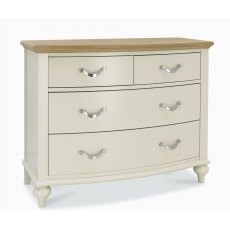 Bentley Designs Montreux Pale Oak & Antique White 2+2 Drawer Chest