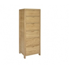 Ercol 1364 Bosco 6 Drawer Tall Chest