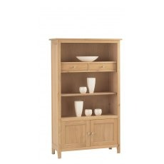 Corndell Nimbus 1258 Medium Bookcase with Cupboard and Drawers
