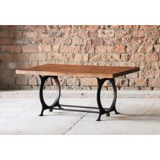Little Tree Furniture Hyatt Canning Industrial Dining Table