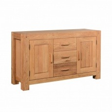 Halo Oregon 3 Drawer 2 Door Sideboard