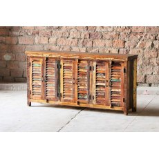 Little Tree Furniture Mary Rose Reclaimed 6 Door Sideboard