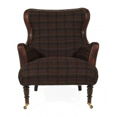 Tetrad Harris Tweed Nairn Chair