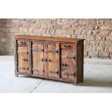 Little Tree Furniture Rustica Reclaimed 2 Drawer 4 Door Sideboard
