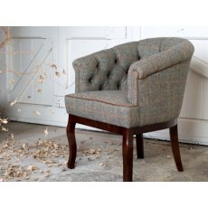Tetrad Harris Tweed Victoria Chair - Hide
