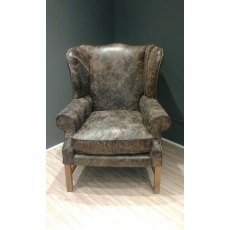 Halo Downing Wing Chair - In Stock - Destroyed Ebony