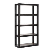 Halo Ironoak Single Bookcase