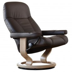 Stressless Consul Large Chair With Classic Base (No stool)