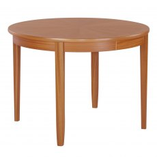 Nathan 2134 Teak Circular Dining Table on Legs