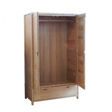 Ercol 1365 Bosco 2 Door Wardrobe