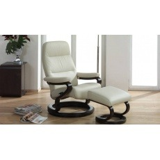 Himolla Zerostress Kennet Reclining Chair & Stool