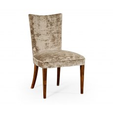 Jonathan Charles Biedermeier Style Walnut Dining Side Chair