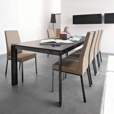 Connubia Calligaris Baron Ceramic Extendable Table