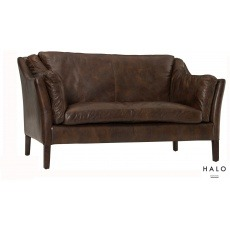 Halo Reggio High Back 2 Seater BIKER TAN- In Stock