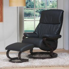 Himolla Zerostress Clyde Reclining Chair & Stool