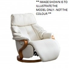 Cumuly by Himolla Chester Mini Small Manual Recliner Creme