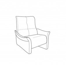Cumuly by Himolla Brent Fixed Armchair