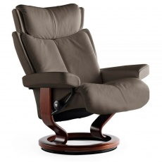 Stressless Magic Medium Chair With Classic Base (No stool)