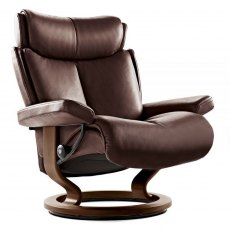 Stressless Magic Large Chair With Classic Base (No stool)