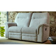 Parker Knoll Hudson 2 Seater Sofa Manual Recliner