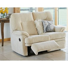 Parker Knoll Seattle 2 Seater Manual Recliner Sofa
