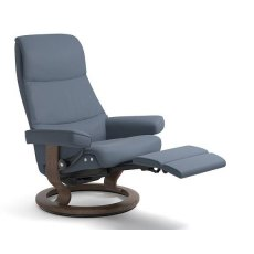Stressless View Medium Recliner Chair Classic Leg Comfort
