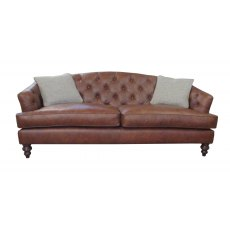 Tetrad Harris Tweed Dalmore Midi Sofa - Option C (Hide)