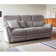 Parker Knoll Savannah Double Power 3 Seater Recliner Sofa