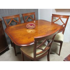 Bradley Furniture -  Mahogany Dining Table & 4 Chairs - Clearance