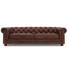 Halo Chester 3 Seater Sofa - made to order in a choice of leathers