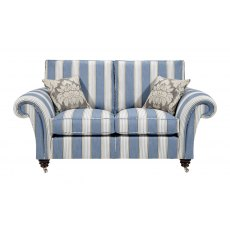 Duresta Holmes 2 Seat Sofa Polished Legs