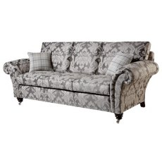 Duresta Holmes Grand Sofa Polished Legs