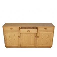 Ercol 3822 windsor 3 door high sideboard