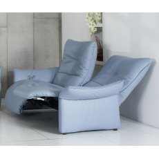 Cumuly by Himolla Brent 2.5 Seater Electric  Recliner Sofa - 2 Seat Cushions