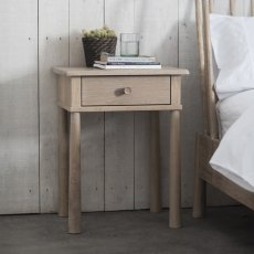 Hudson Wycombe 1 Drawer Bedside Table