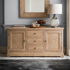 Hudson Mustique 2 Door,3 Drawer Sideboard