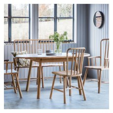 Hudson Wycombe Round Extending Dining Table