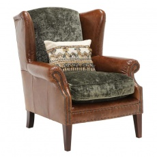 Tetrad Constable Wing Chair