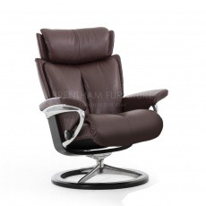 Stressless Magic Large Chair With Signature Base (No stool)