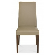 Bentley Designs Miles Walnut Dining Chair (PAIR)