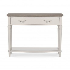 Bentley Designs Montreux Grey Washed Oak & Soft Grey Console Table