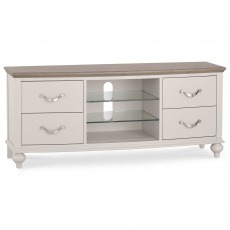 Bentley Designs Montreux Grey Washed Oak & Soft Grey Entertainment