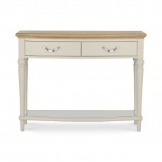 Bentley Designs Montreux Pale Oak & Antique White Console Table