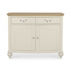Bentley Designs Montreux Pale Oak & Antique White Narrow Sideboard