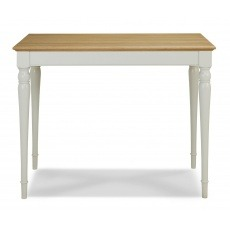 Bentley Designs Hampstead Soft Grey & Pale Oak Bar Table