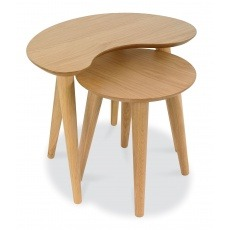 Bentley Designs Oslo Oak Nest Of Tables