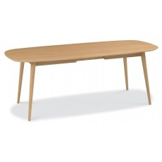 Bentley Designs Oslo Oak 6-8 Seater Extension Dining Table