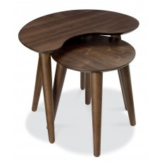 Bentley Designs Oslo Walnut Nest Of Tables