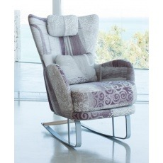 Fama Kylian Chair With Rocking Base