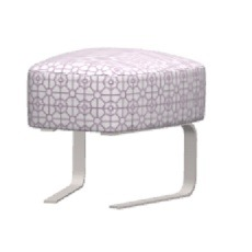 Fama Kylian Footstool With Rocking Base